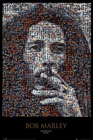 Bob Marley – Mosaik Poster