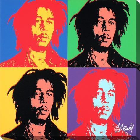 Bob Marley Pop Art Design