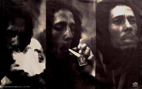 Bob Marley - Triple Portrait Kangasjuliste
