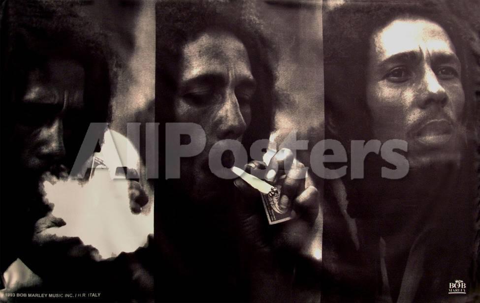 Bob Marley - Triple Portrait Pósters en AllPosters.es