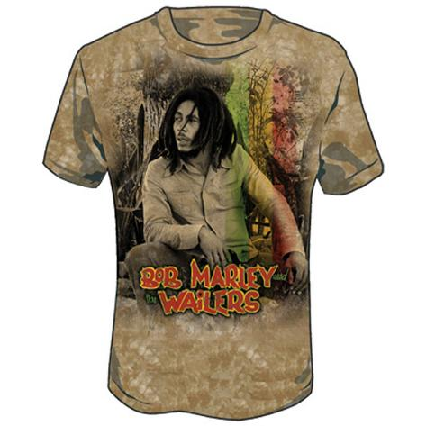 Bob Marley - Wailers Dye T-Shirt