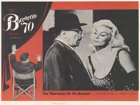 Boccaccio 70, 1962 Lámina