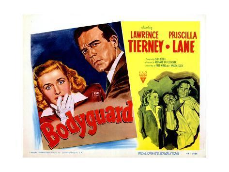 Bodyguard, Priscilla Lane, Lawrence Tierney, Priscilla Lane, 1948 Impressão giclée