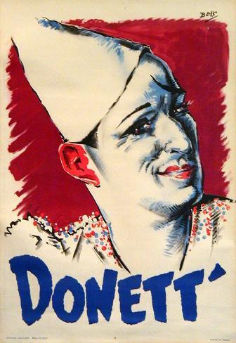 Donett Clown (c.1930) Collectable Print