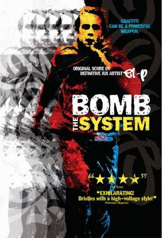 Bomb the System マスタープリント