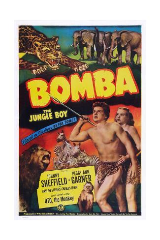 Bomba Giclee Print