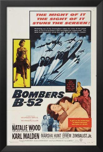 Bombers B-52 Framed Art Print