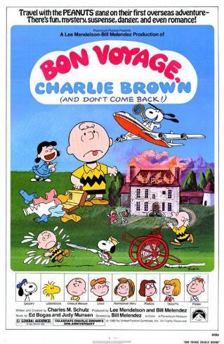 Bon Voyage Charlie Brown Masterprint
