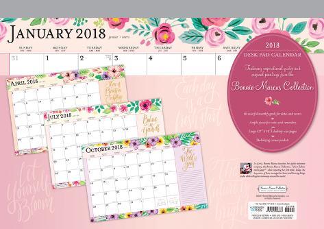 Bonnie Marcus 2018 Desk Pad Calendar Calend 225 Rios Na