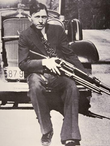 Clyde Barrow, 1934 Photographic Print