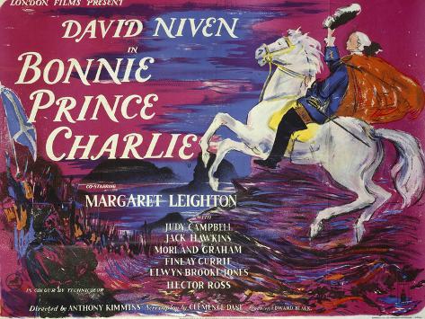 Bonnie Prince Charlie Art Print