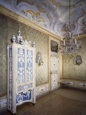 Bonzanigo Lounge, Stupinigi's Little Hunting Palace Photographic Print