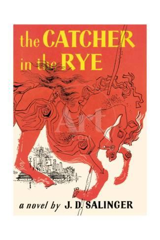 Book Cover Of The Catcher In The Rye By J D Salinger First