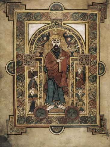 Book of Kells Art Print