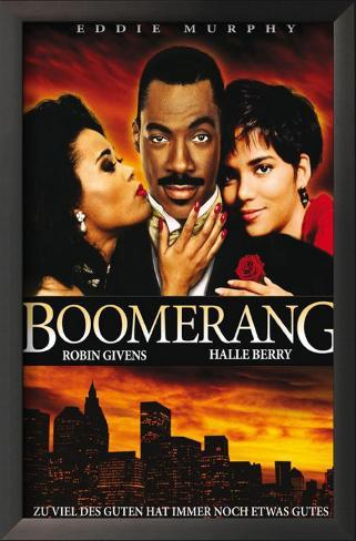 Boomerang Framed Art Print