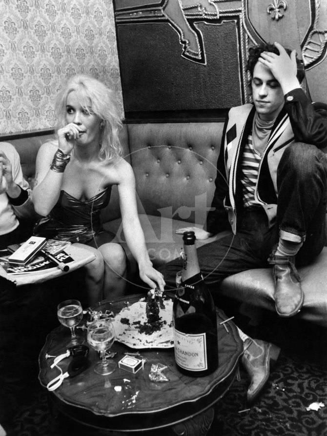 Boomtown Rats on Tour. Bob Geldof and Girlfriend Paula Yates ...