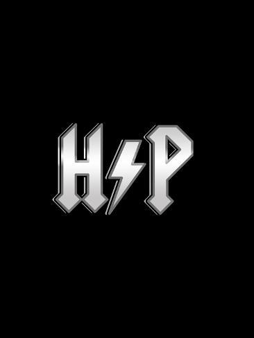 Rockin Potter - Harry AC/DC Mashup Poster