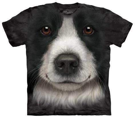 Border Collie Face T-Shirt