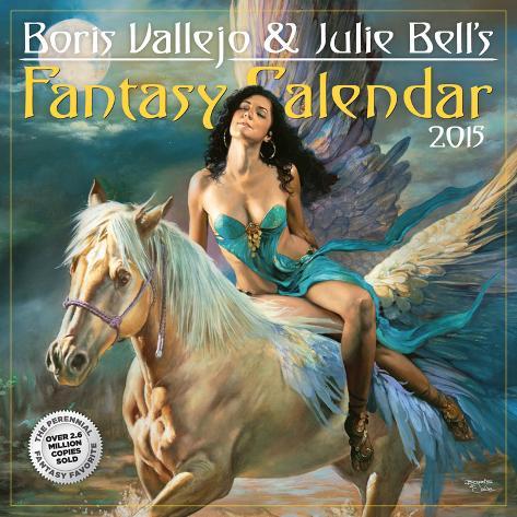 Boris Vallejo and Julie Bell's Fantasy - 2015 Calendar Calendars