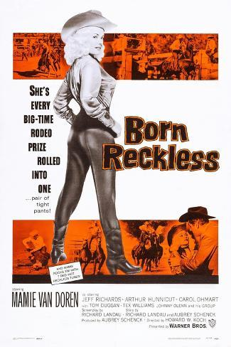 Born Reckless Art Print