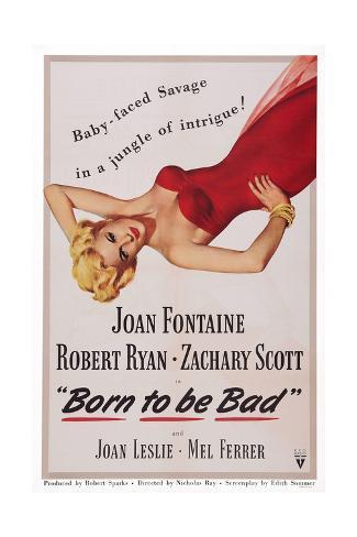 Born to Be Bad Giclee Print
