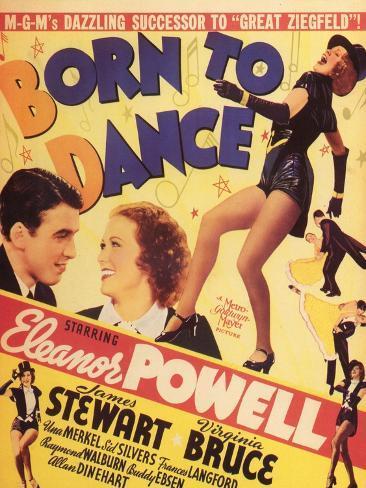 Born to Dance , 1936 Art Print