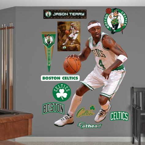 Boston Celtics Jason Terry Wall Decal Sticker Wall Decal