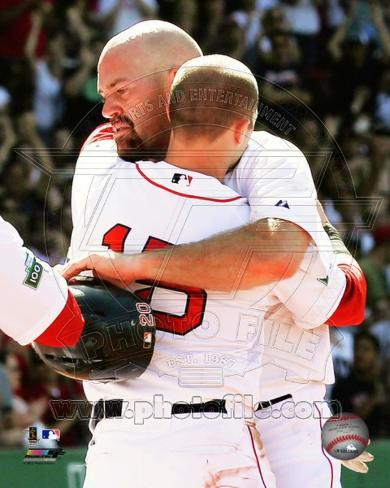 Boston Red Sox - Kevin Youkilis, Dustin Pedroia Photo Photo