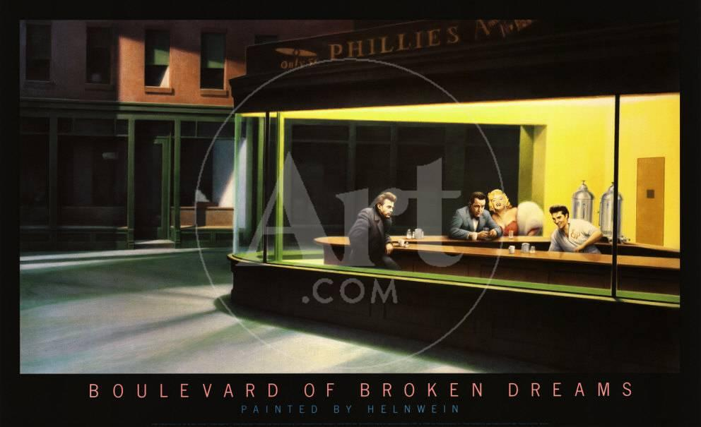 Boulevard Of Broken Dreams Prints At Allposterscom