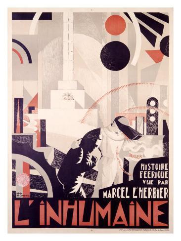 L'Inhumaine Giclee Print