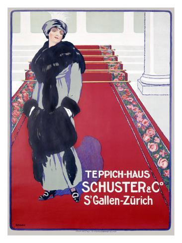 Schuster & Company, Teppich-Haus Stampa giclée