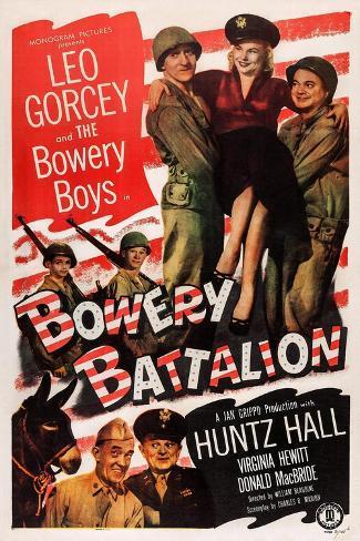 Bowery Battalion Art Print