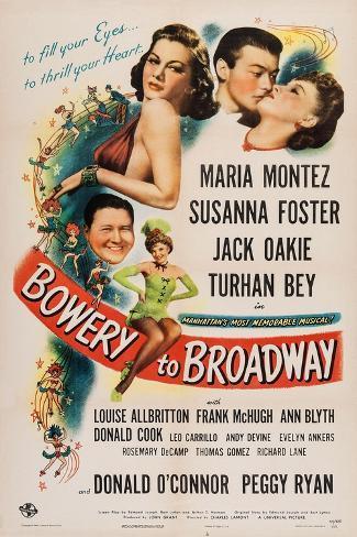 Bowery to Broadway, 1944 Art Print