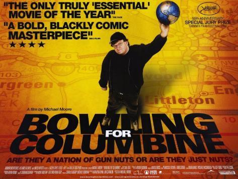 Bowling a Columbine Stampa master