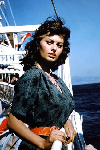 Boy on a Dolphin 1957 Directed by Jean Negulesco Sophia Loren 写真