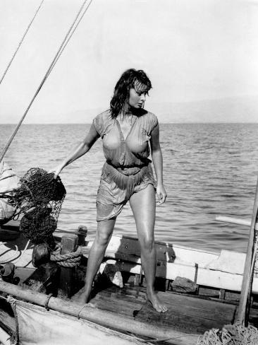 Boy on a Dolphin, Sophia Loren, 1957 Fotografia