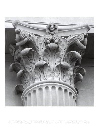 Architectural Detail III Art Print