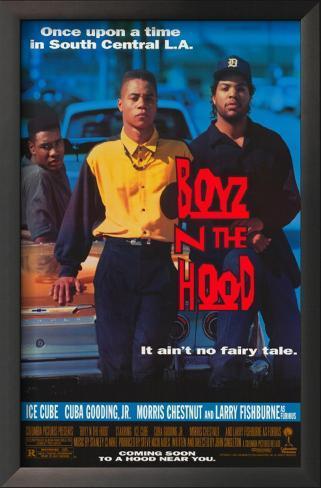 Boyz N the Hood Framed Art Print