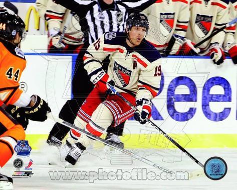 Brad Richards 2012 NHL Winter Classic Action Photo