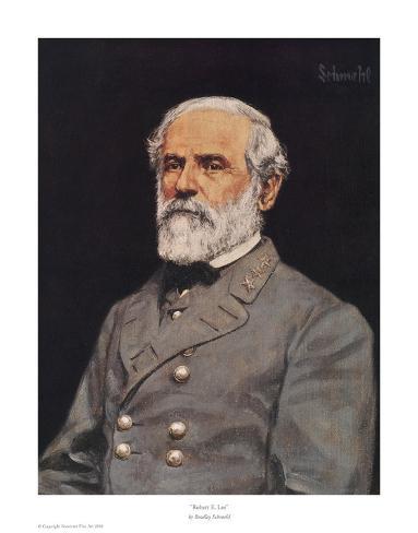 Robert E. Lee Stampa artistica