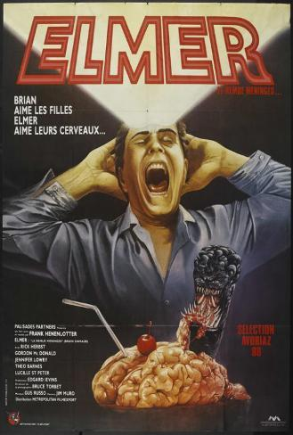 Brain Damage - French Style Poster