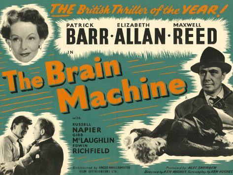 Brain Machine (The) Art Print