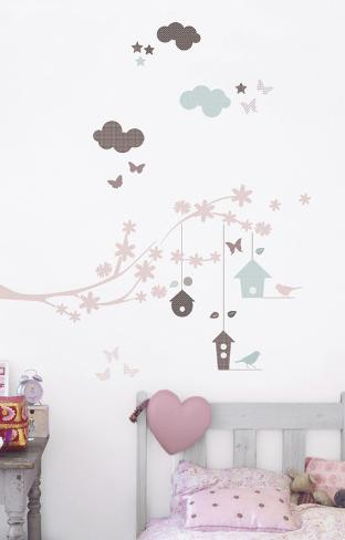 Branch & Nest Wall Decals Wall Decal