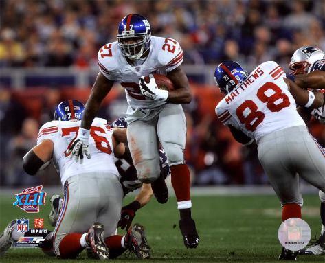 Brandon Jacobs - Super Bowl XLII Photo