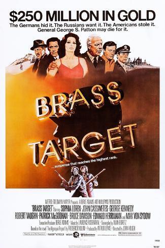 Brass Target Art Print