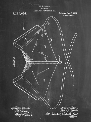 Brassiere Patent 1914 Stampa artistica