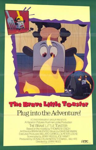 Brave Little Toaster マスタープリント