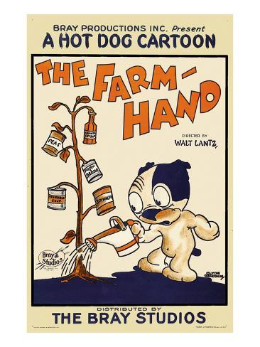 The Farm Hand Art Print