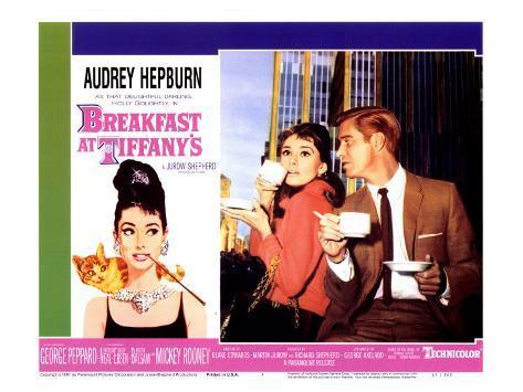 Breakfast At Tiffany's, 1961 Lámina