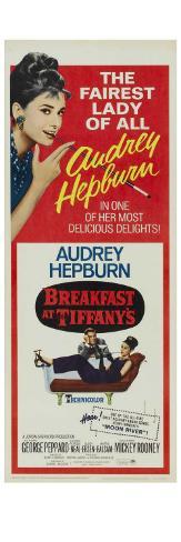 Breakfast At Tiffany's, 1961 Konstprint
